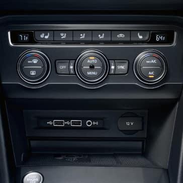 2020 Tiguan AC Controls