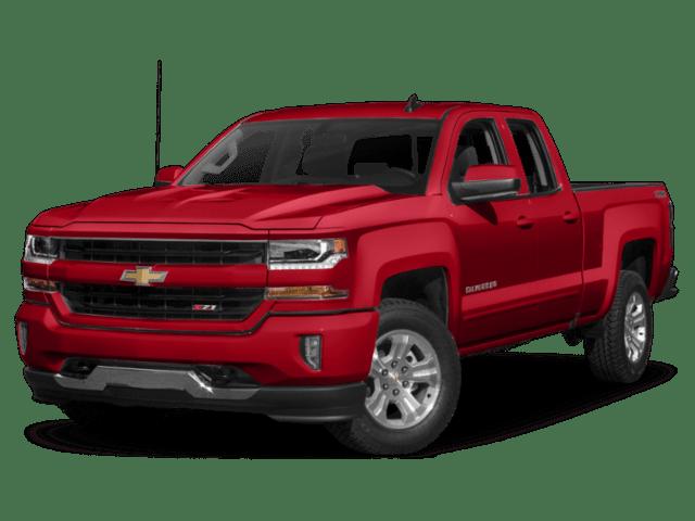 2019 Chevrolet Silverado in red