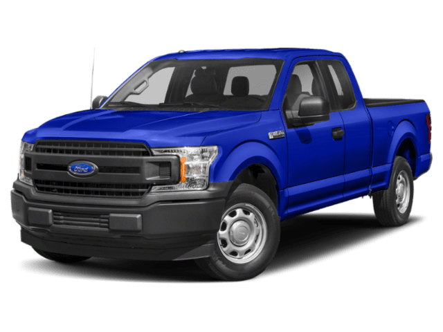 2019 Ford F-150 in blue