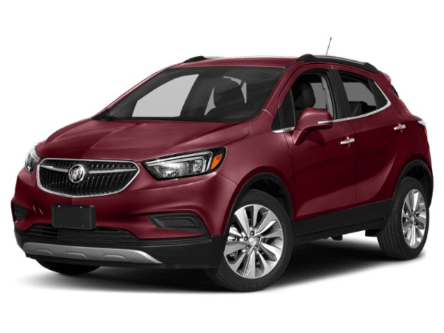 2019 Buick Encore in red