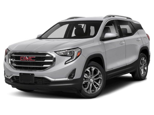 2019 GMC Terrain in silver