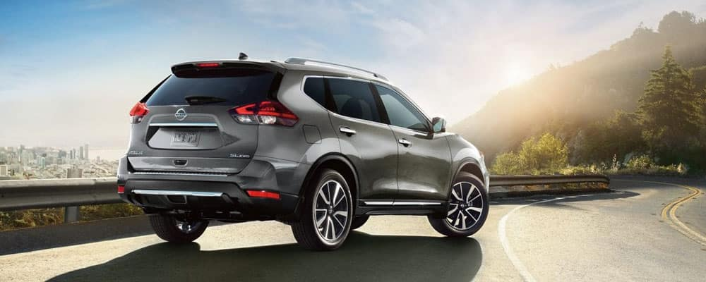 2019 Nissan Rogue Exterior Parked on Road