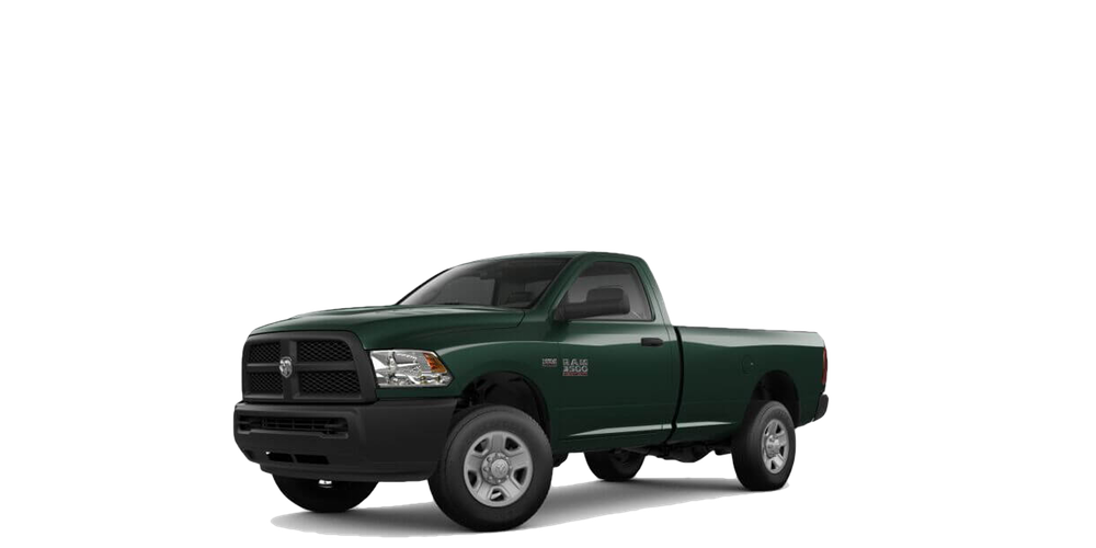 2018 RAM 3500 white background