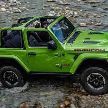 2019 Jeep Wrangler Crossing River