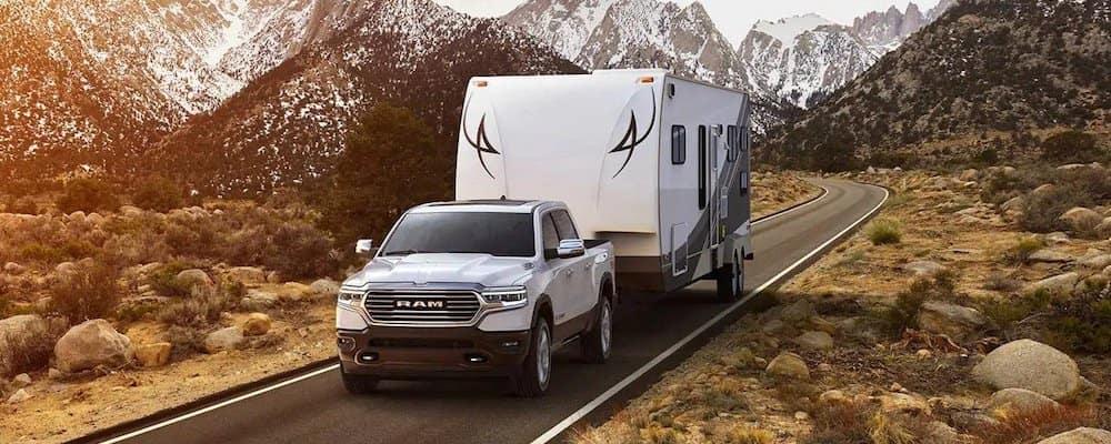 2019 ram 1500 towing large trailer