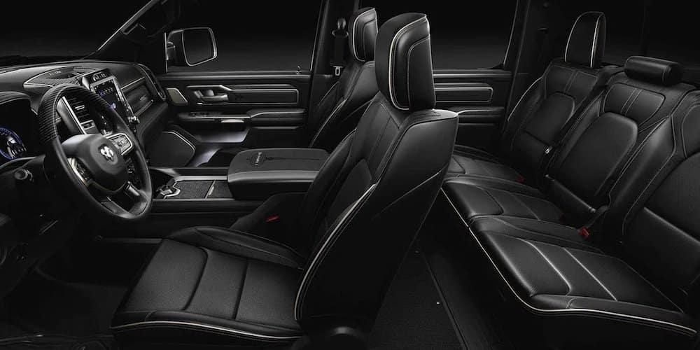 2019 ram 1500 full interior