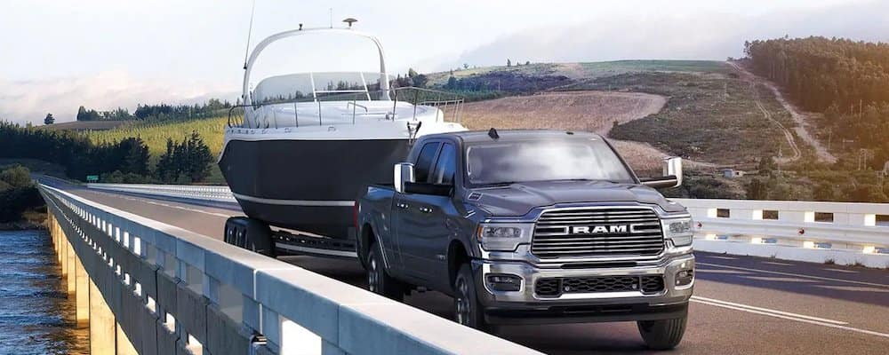 2019 ram 2500 towing large boat