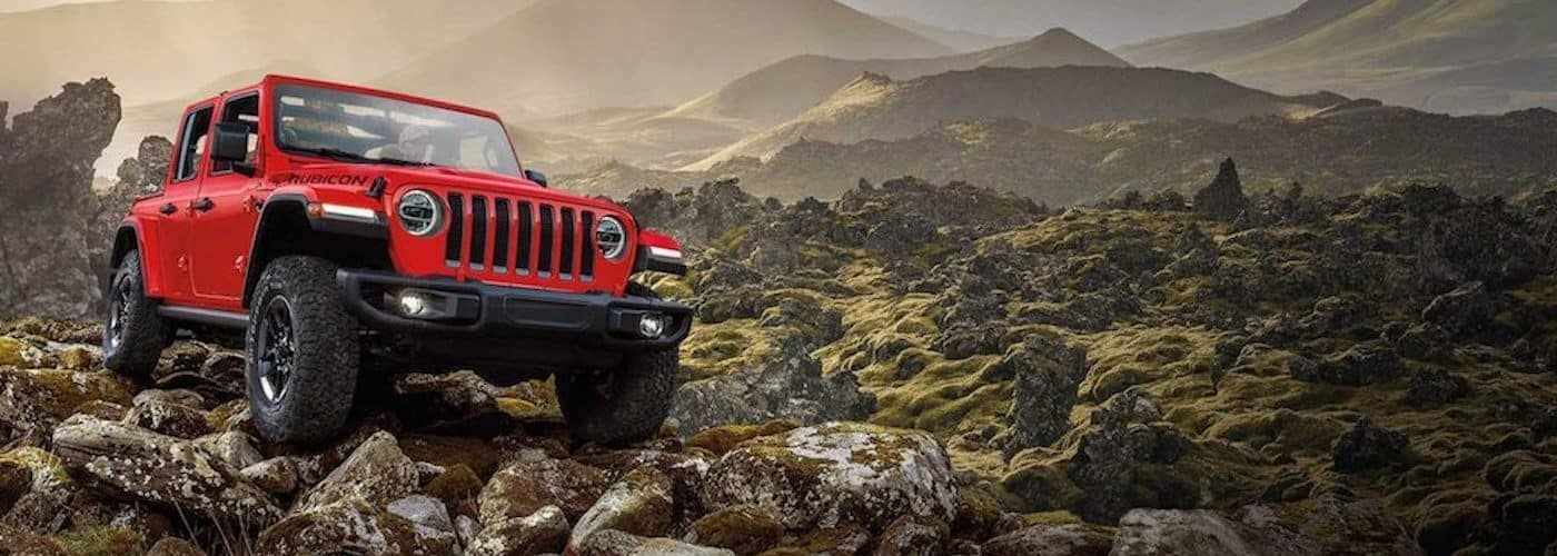 2019 rubicon driving off-road