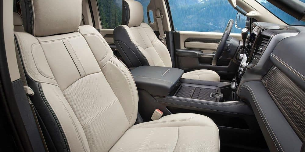2019 ram 3500 front interior and dash