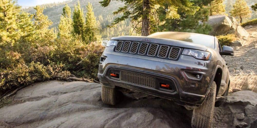 Trailer Rated Trailhawk Jeep Off-Road