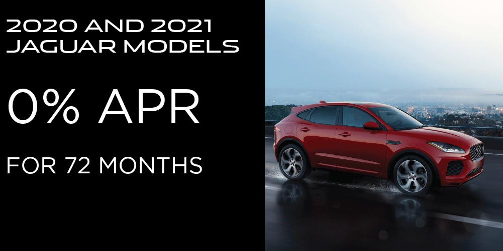 ALL 2020 AND 2021 JAGUAR MODELS