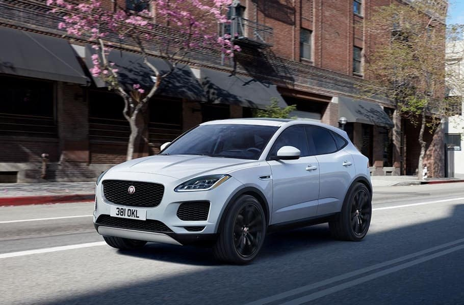 2019 Jaguar E-Pace Driving