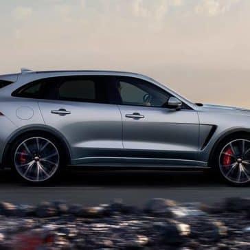 2019 Jaguar F-Pace Side