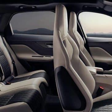 2019 Jaguar F-Pace Seating