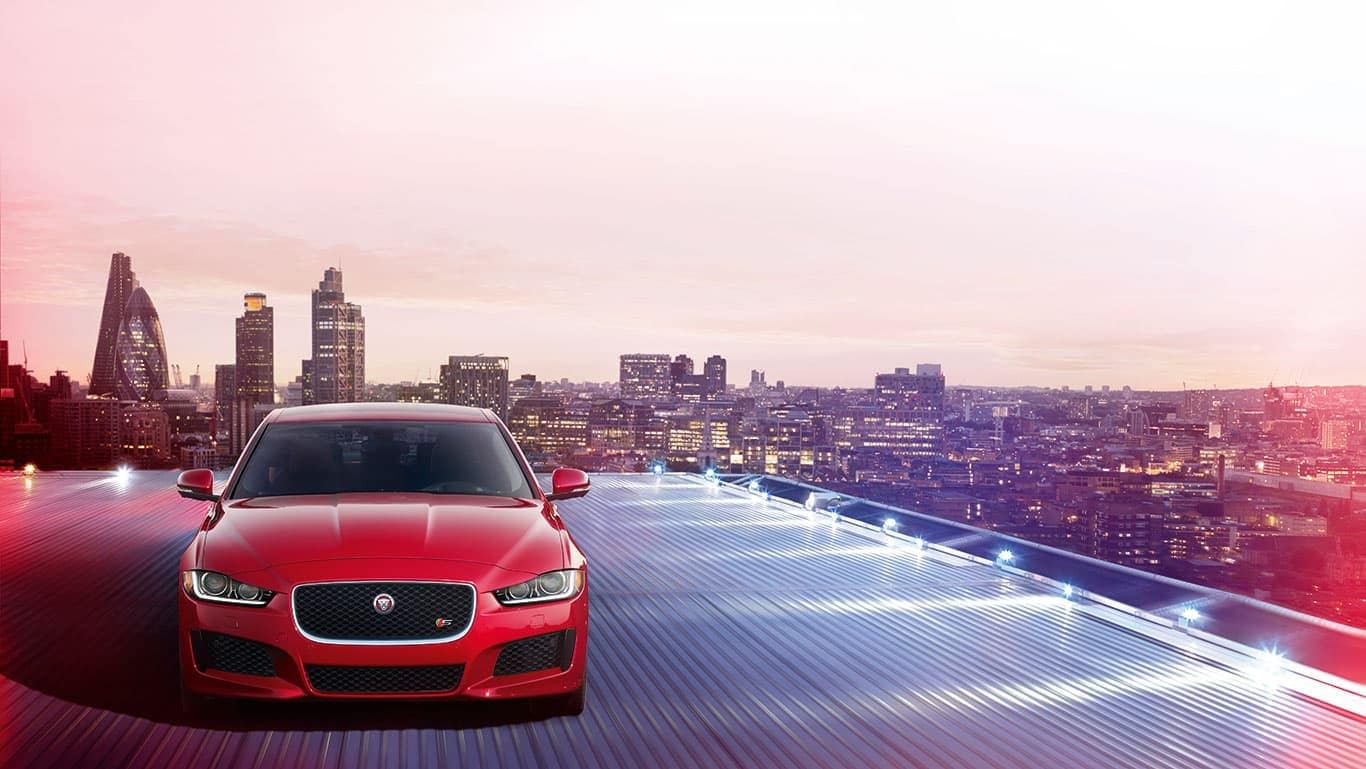 2019 Jaguar XE On Rooftop