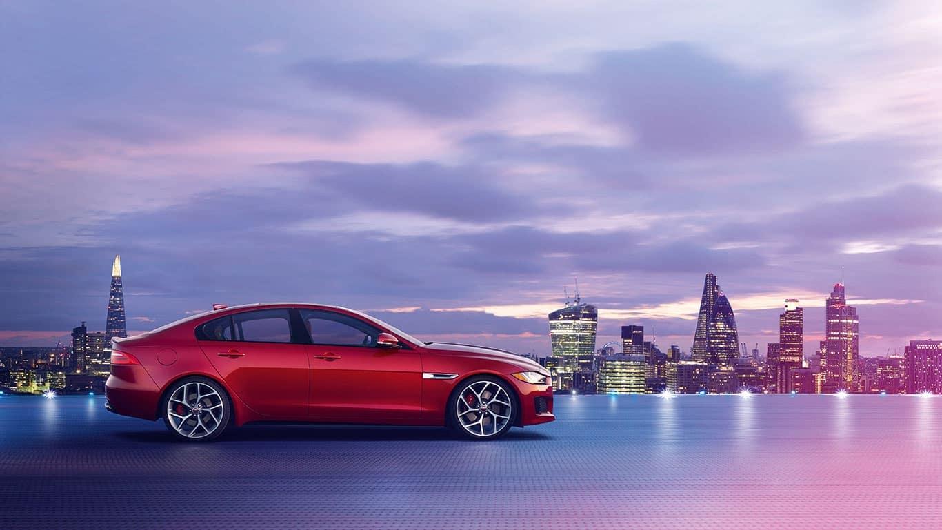 2019 Jaguar XE At Dusk