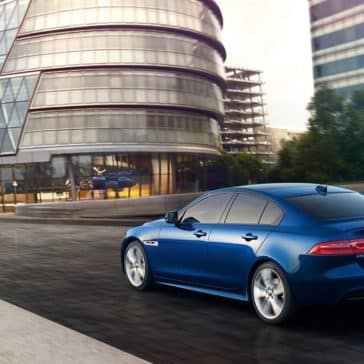 2019 Jaguar XE Rear