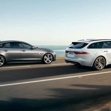2019-jaguar-xf-sportbrake-and-jaguar-xf-sedan-side-view