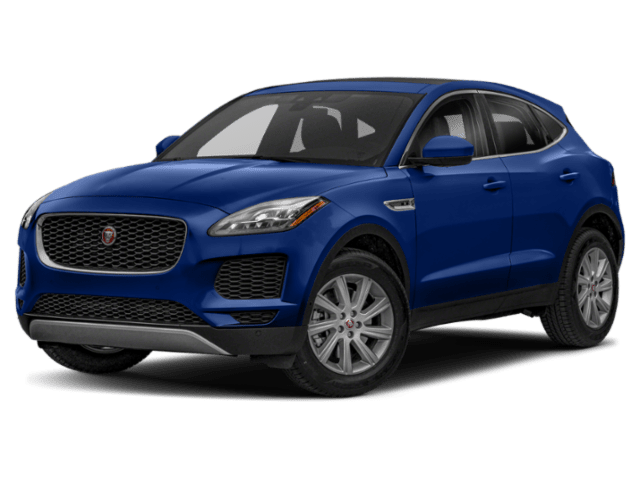 2019 Jaguar E-PACE in blue