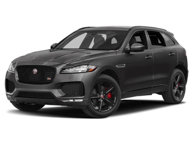 2019 Jaguar F-PACE in charcoal