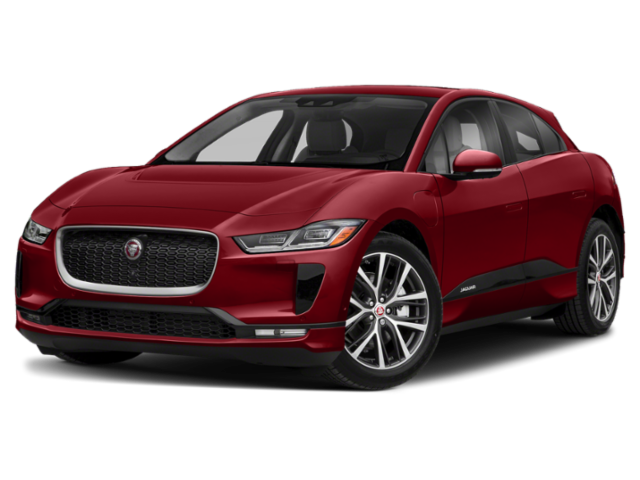 2019 Jaguar I-PACE in red