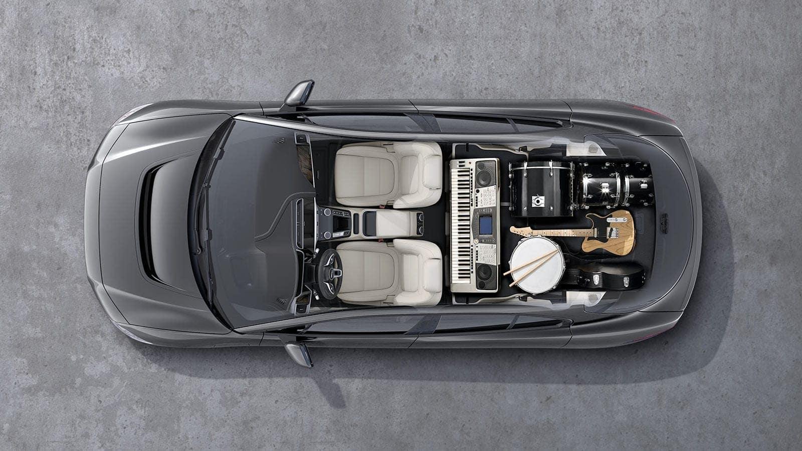 2019 Jaguar I-PACE interior overview