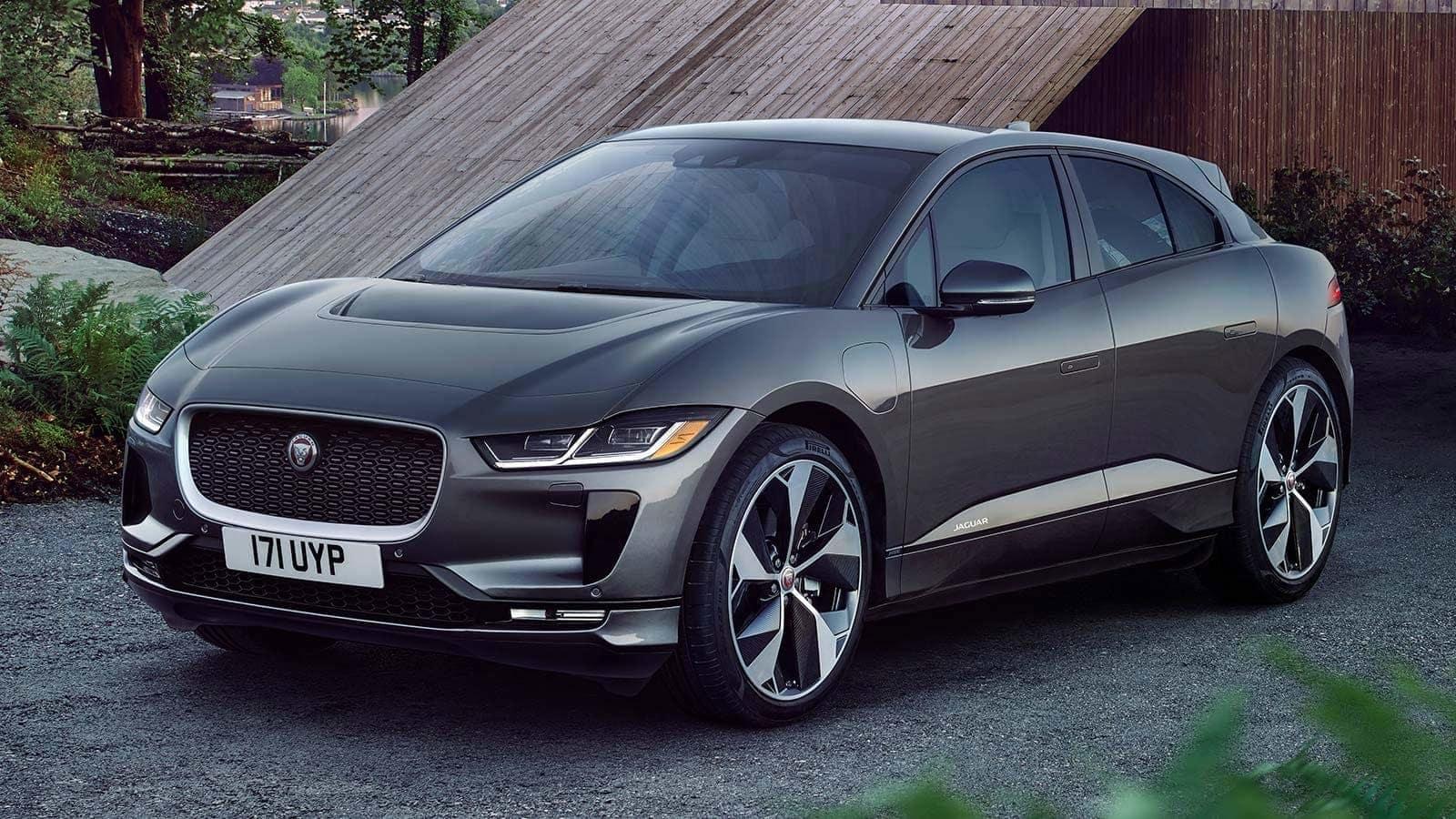 2019 Jaguar I-PACE parked side profile