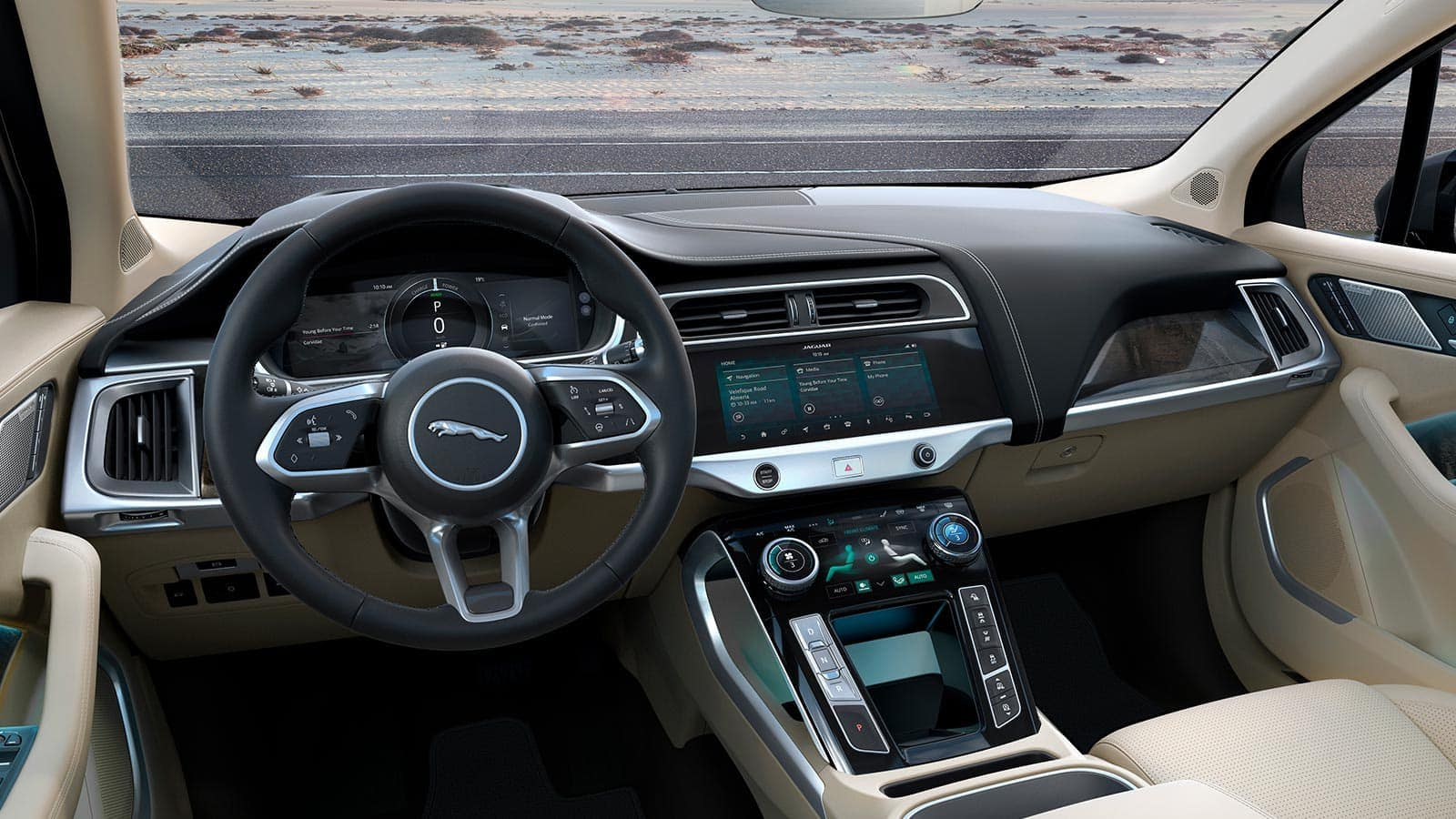 2019 Jaguar I Pace interior