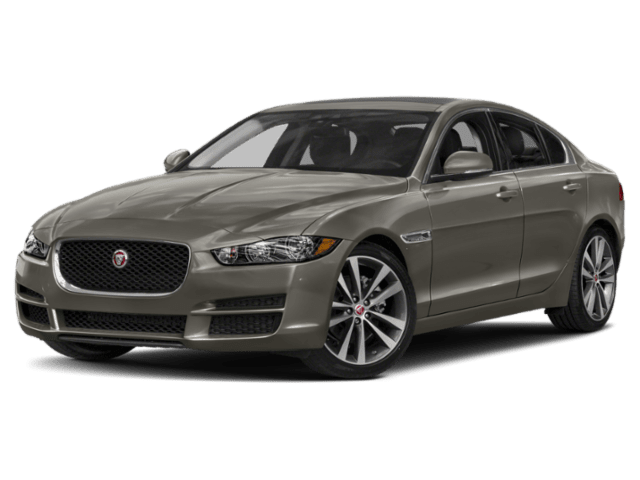 2019 Jaguar XE in grey