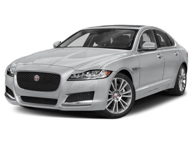 2019 Jaguar XF in silver