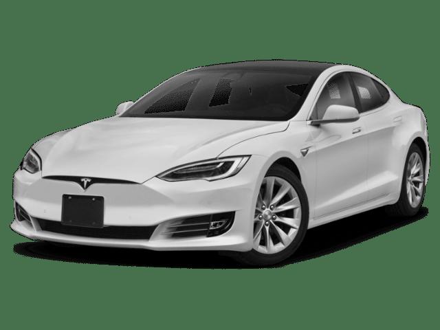 2019 Tesla Model X in white