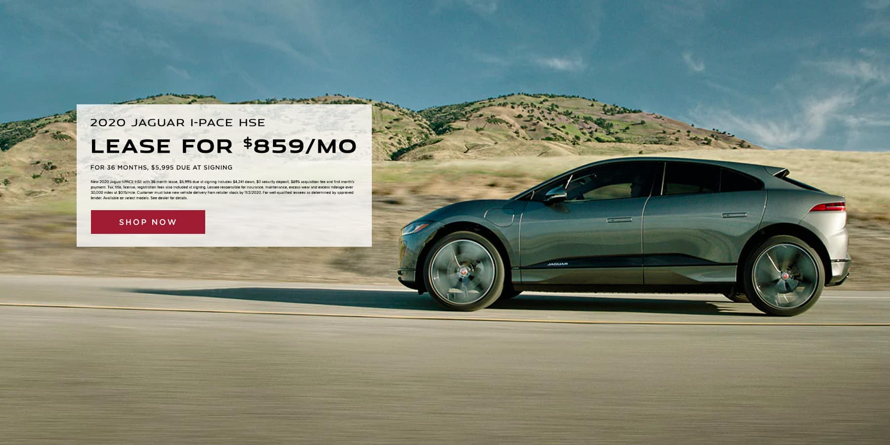 2020 I-PACE Lease Hinsdale