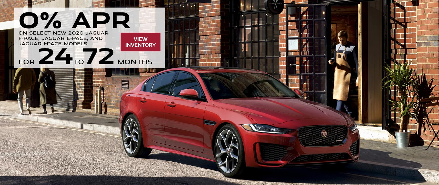 0% on select new Jaguar models