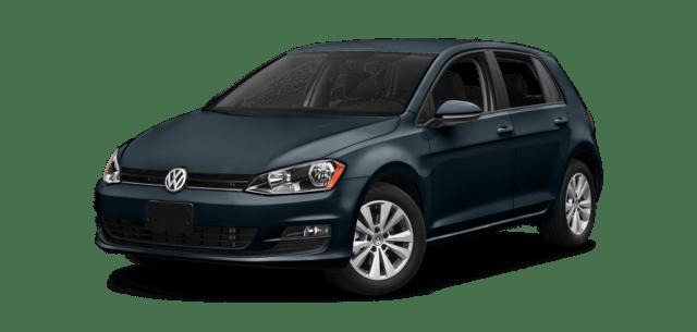 2017 VW Golf Blue