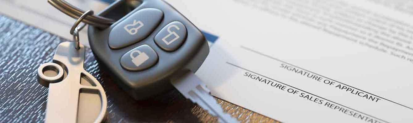 Car loan papers