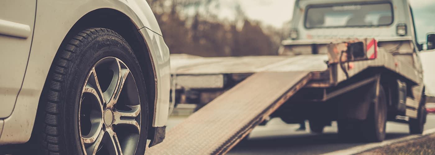 Roadside assistance pickup