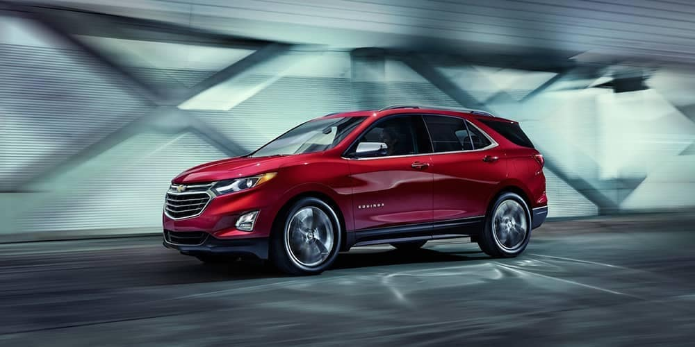 Red 2019 Chevrolet Equinox