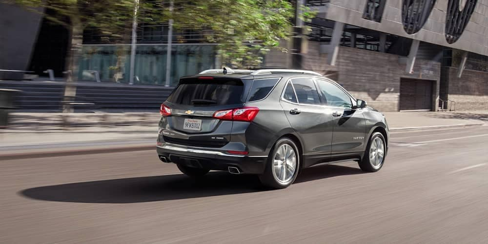 2019 Chevrolet Equinox rear view