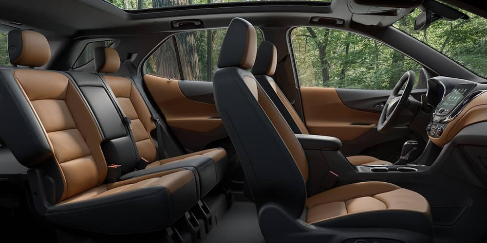 2019 Chevrolet Equinox interior seating