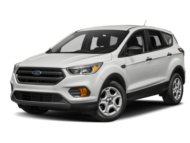 2019 Ford Escape in white
