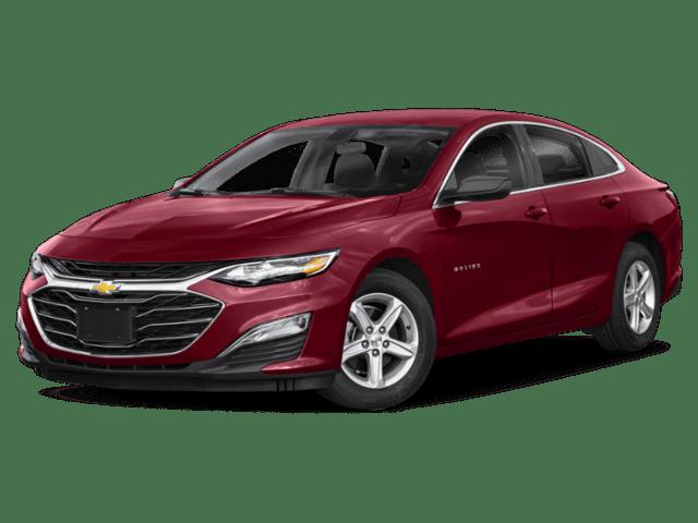 2019 Chevrolet Malibu in red