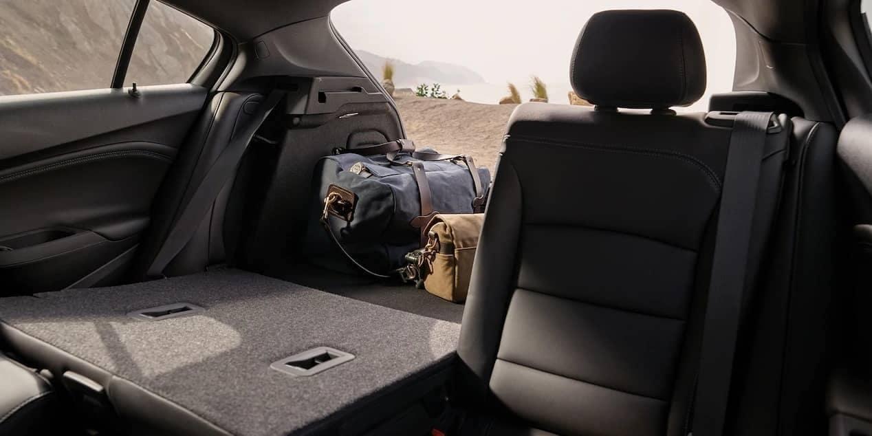 2019 Chevrolet Cruze hatchback 60-40 split seat down interior