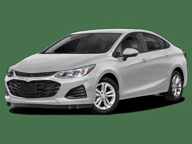 2019 Chevrolet Cruze in silver