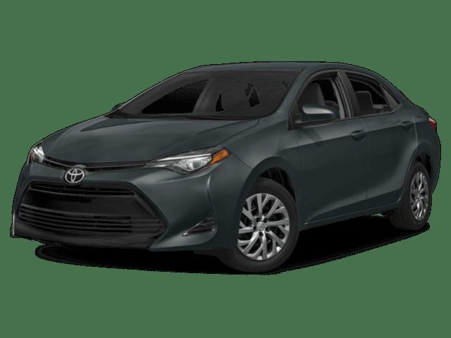 2019 Toyota Corolla in charcoal