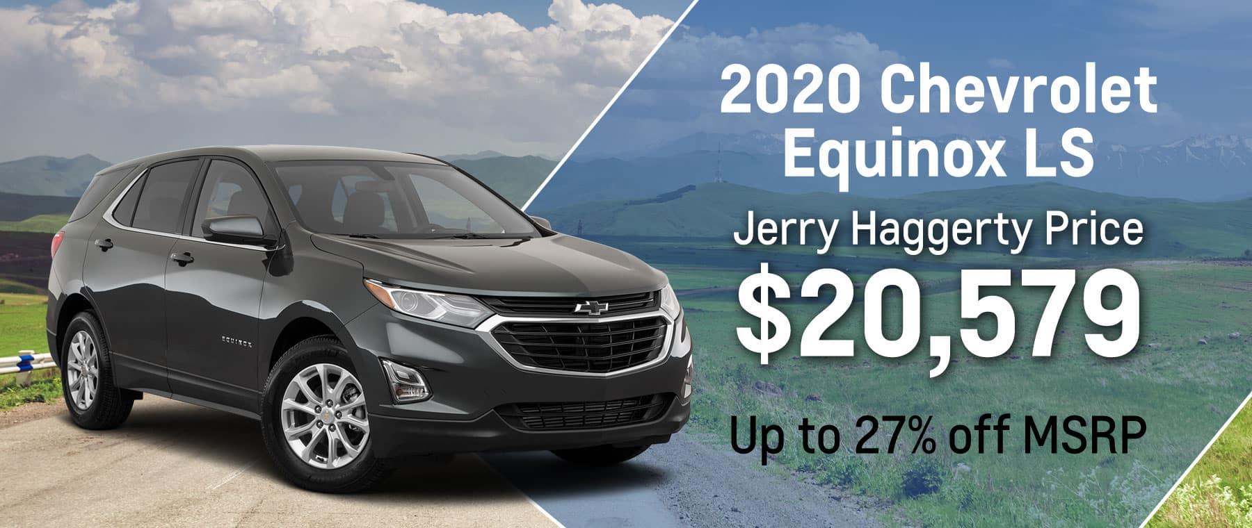 2020 Equinox LS April 2021 Offer