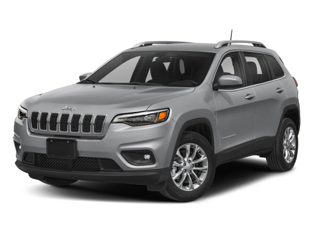 2019 Jeep Cherokee in silver