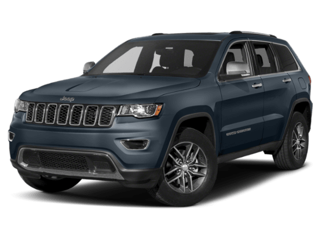 2019 Jeep Grand Cherokee in navy blue