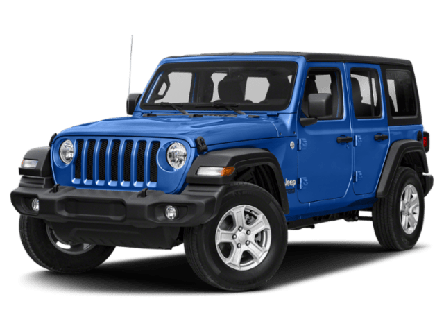 2019 Jeep Wrangler Unlimited in blue