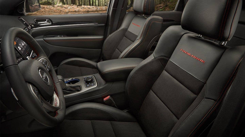 2019 Jeep Grand Cherokee Interior trailhawk edition
