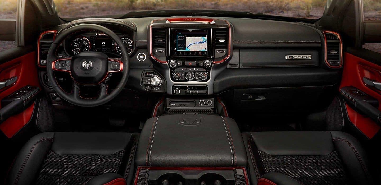 2019 RAM 1500 interior Rebel edition